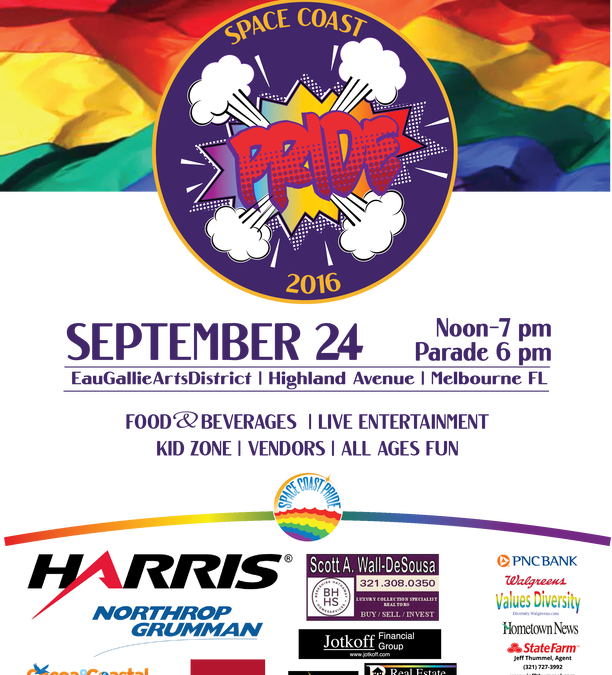 Space Coast Pride Parade & Festival