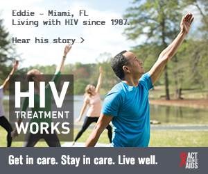 Encourage People Living with HIV to Get in Care, Stay in Care and Live Well.