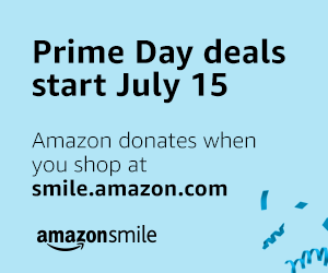 Amazon Prime Day – Shop epic deals on July 15 and 16 on smile.amazon.com and Amazon donates to Project Response, Inc.