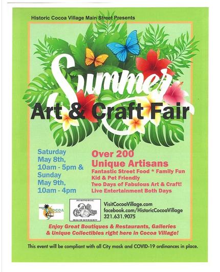 Cocoa Village Summer Craft Fair